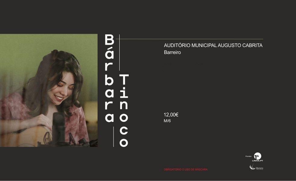 ADIADO 30 de ABRIL | Bárbara Tinoco | Concerto | AMAC