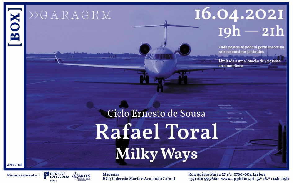 appleton - Box >> Garagem   Rafael Toral / Milky Ways