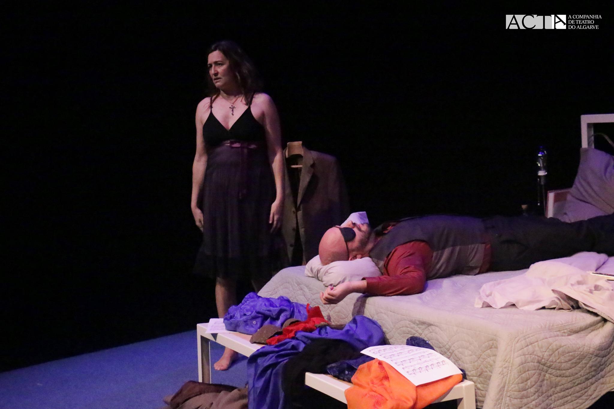 'A Noite de Molly Bloom' - Acta - Companhia de Teatro do Algarve