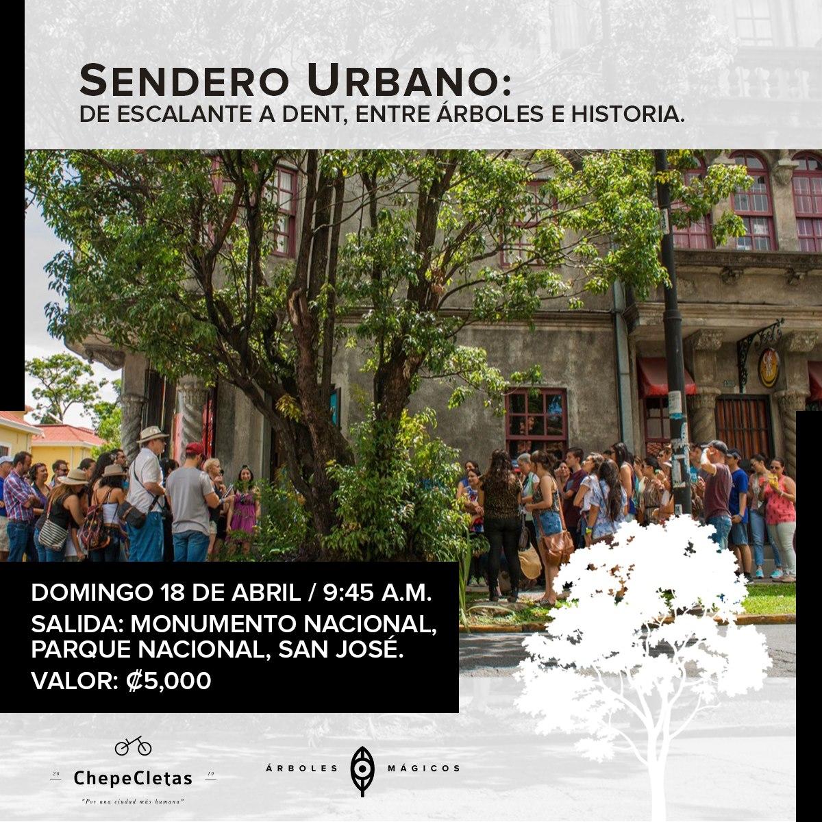 Sendero Urbano: de Escalante a Dent, entre árboles e historia.