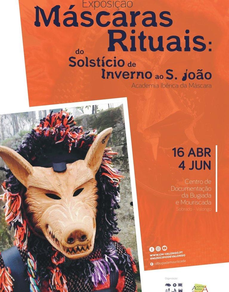 Exposição 'Máscaras Rituais: do Solstício ...