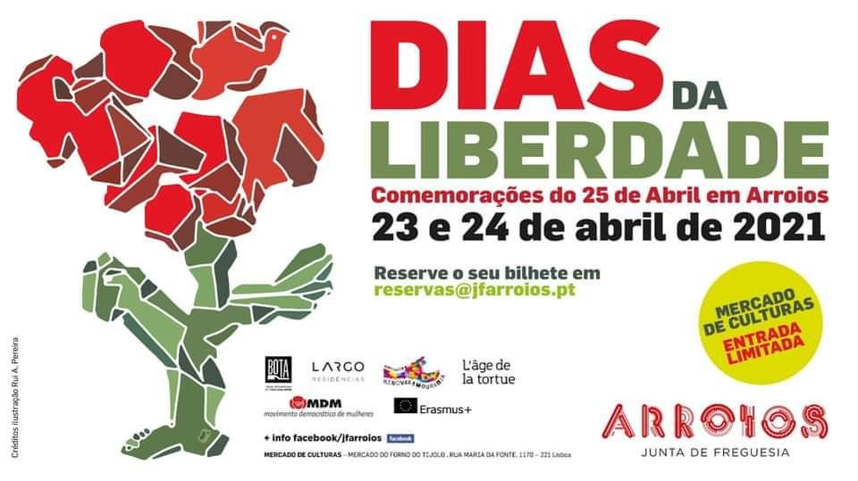 Dias da Liberdade – Comemorações do 25 de abril em Arroios
