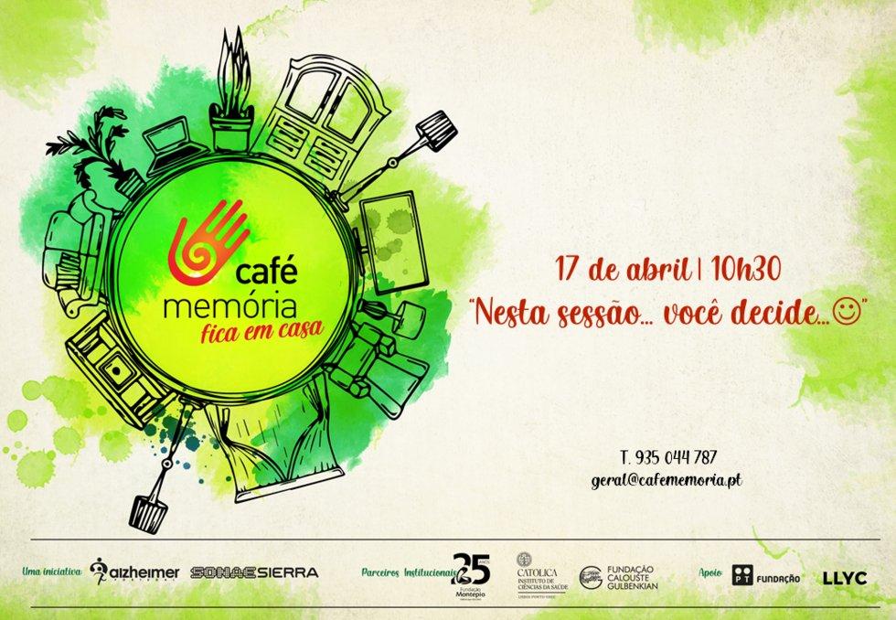 Café Memória Fica em Casa - 17/04/2021
