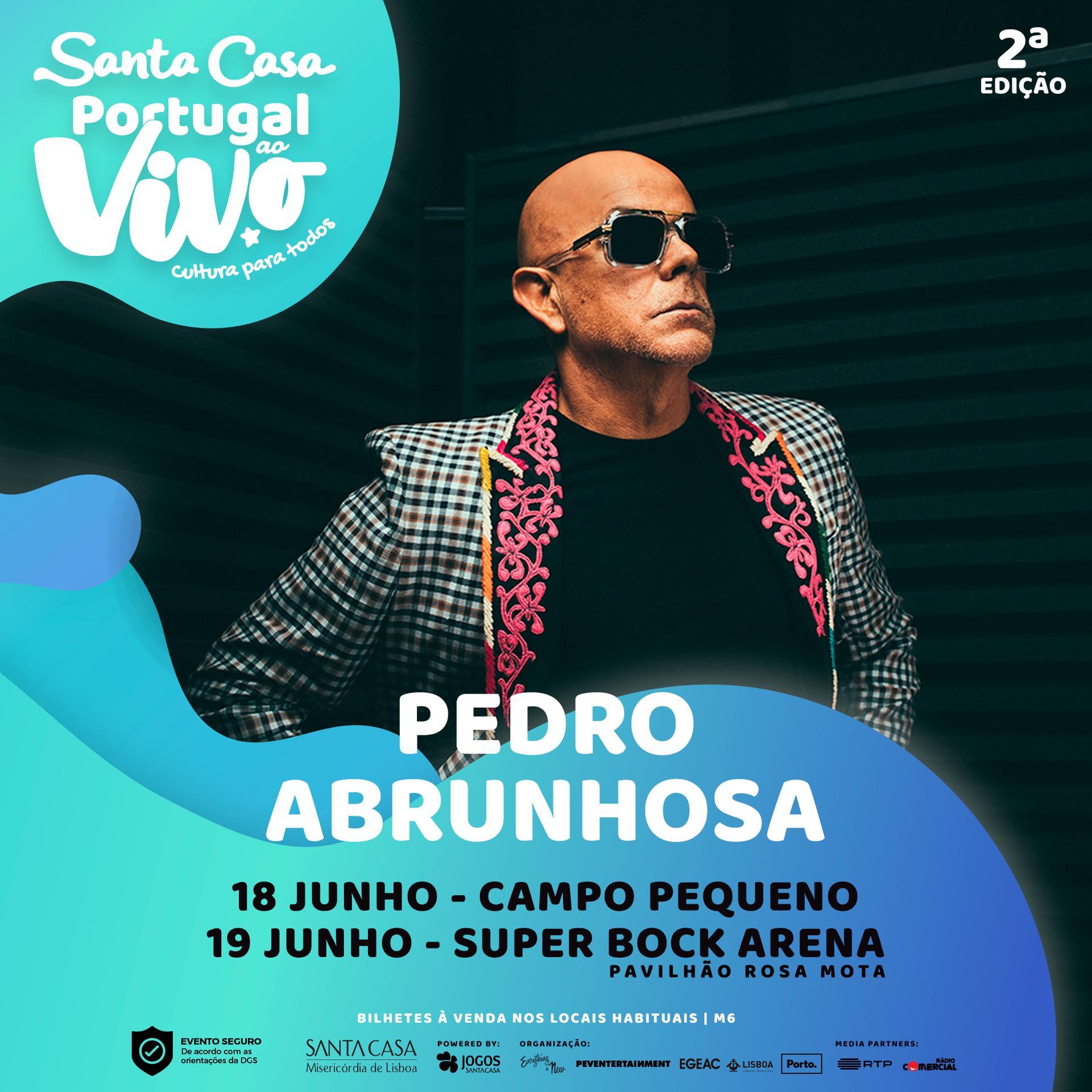 Pedro Abrunhosa - Santa Casa Portugal ao Vivo - Porto