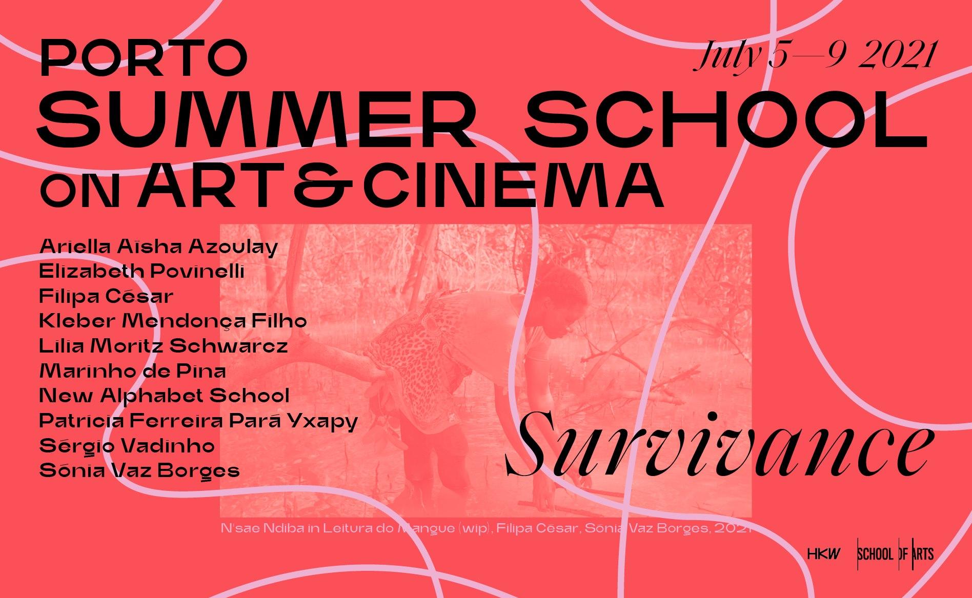 Call for Applications: Porto Summer School on Art & Cinema 2021 : Survivance