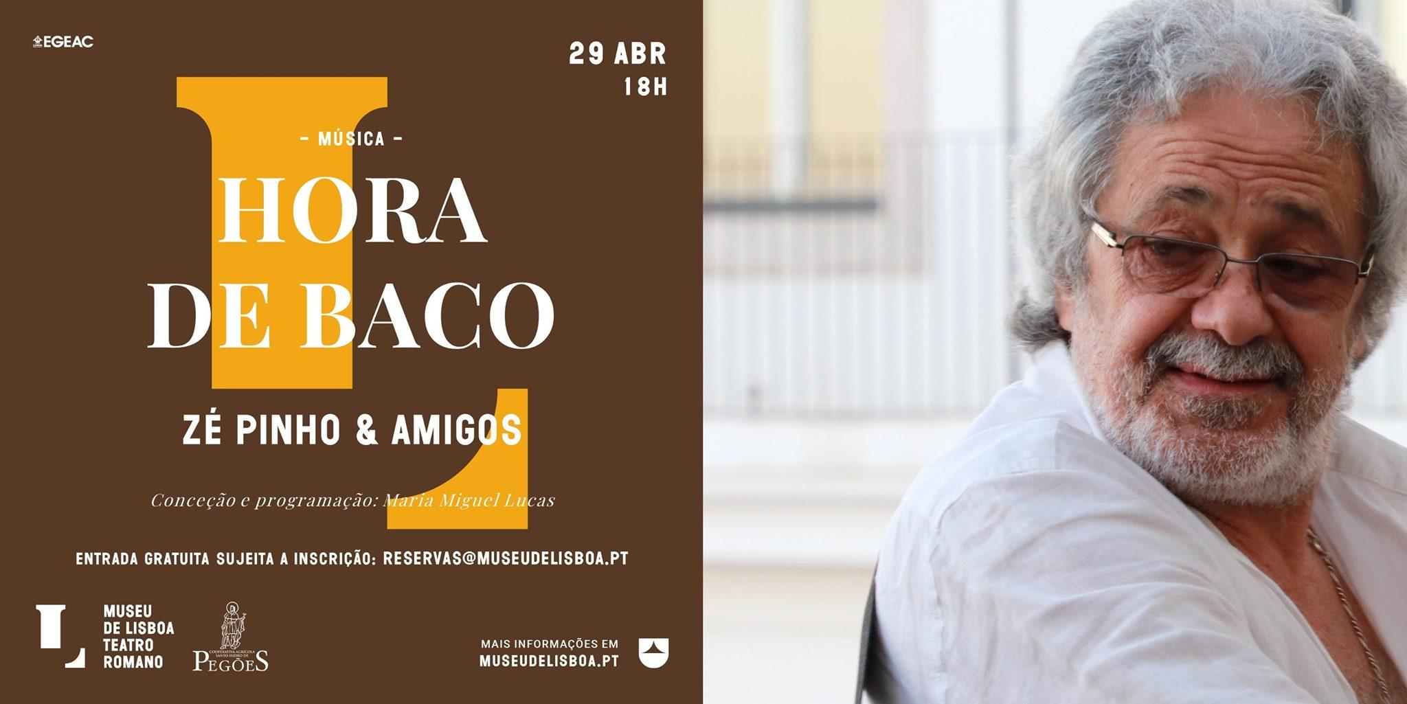 Hora de Baco no Teatro Romano | Zé Pinho & Amigos