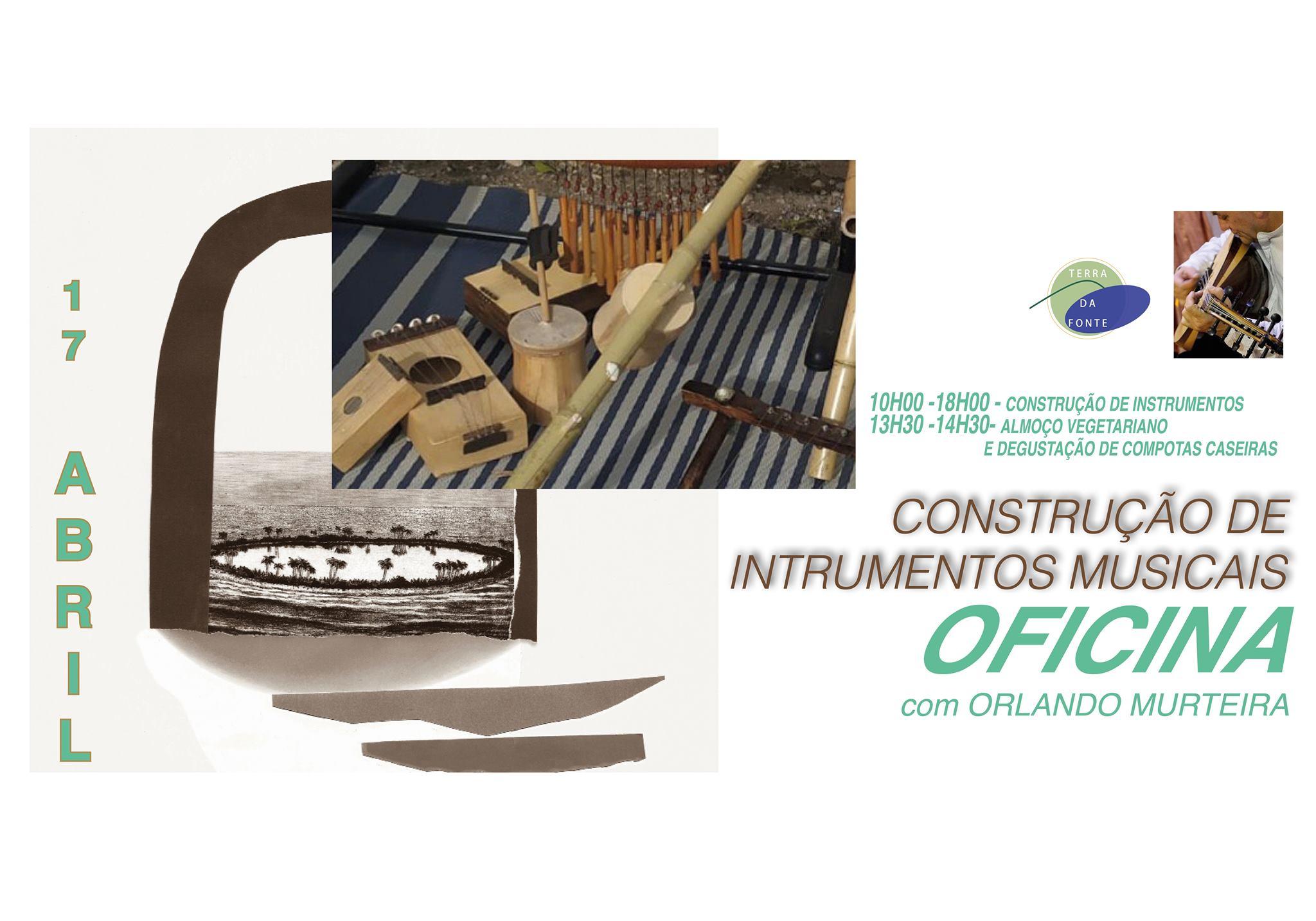 Oficina de construção de Instrumentes Musicais