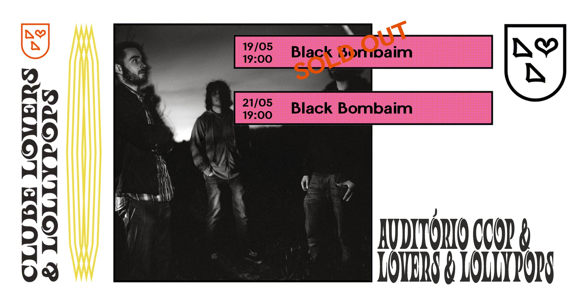 Black Bombaim no Auditório CCOP