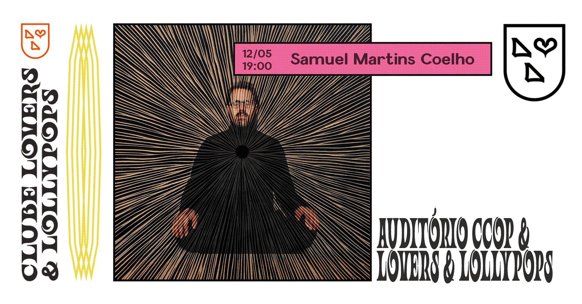 Samuel Martins Coelho no Auditório CCOP