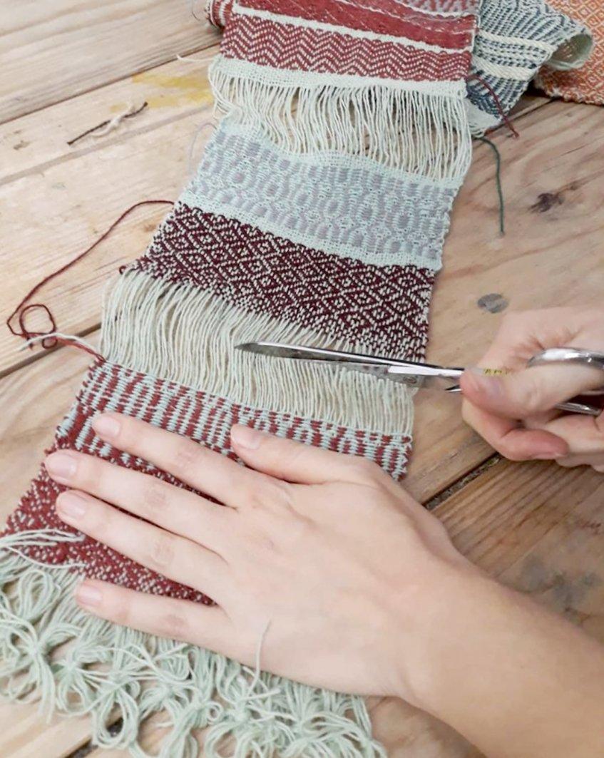 Oficina de tecelagem com Guida Fonseca