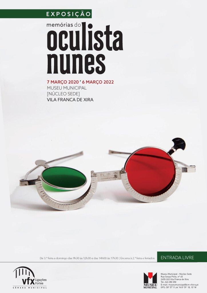 Exposição sobre emblemática loja Oculista Nunes