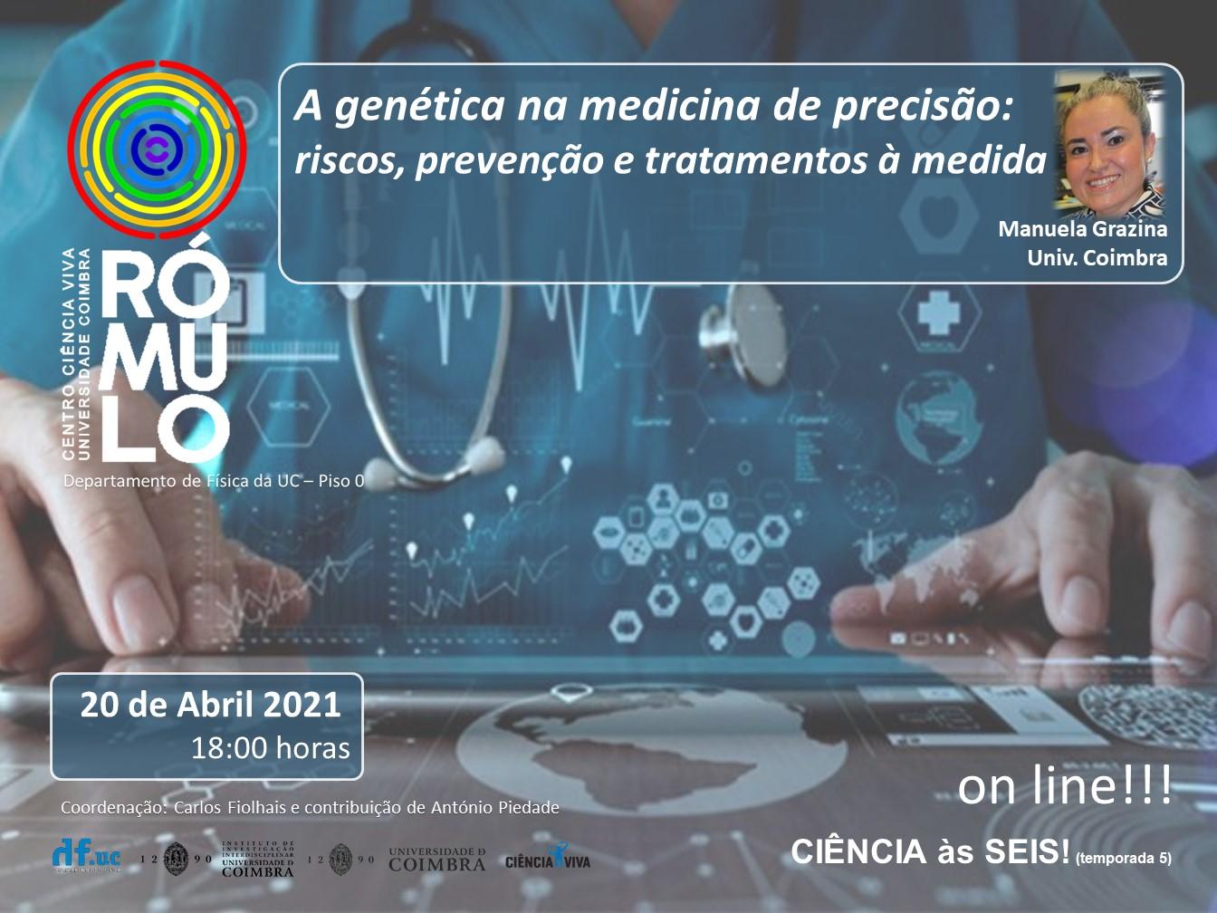 A Genética na medicina de precisão: riscos, prevenção e tratamento à medida