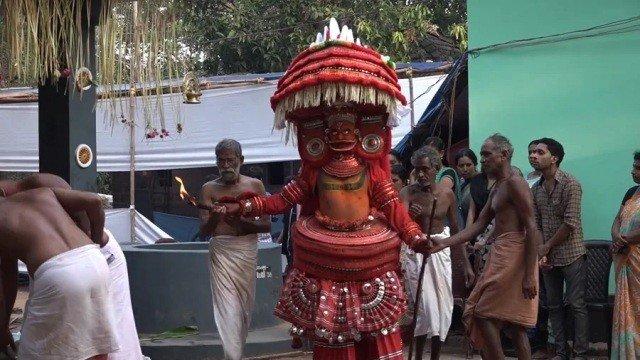 """""""Theyyam, The Dancing Gods""""    Cinema das Nossas Terças"""