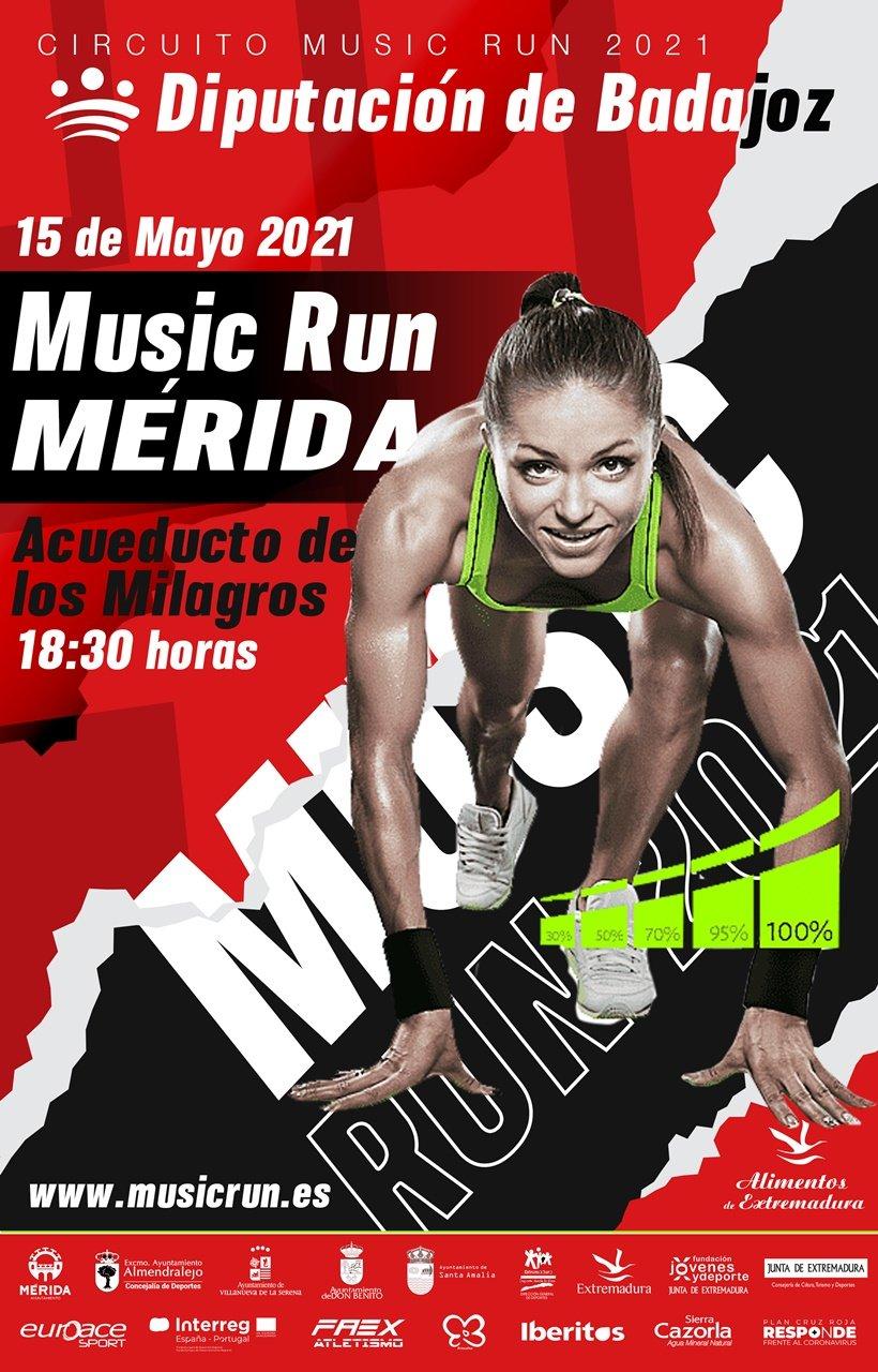 Music Run Mérida 2021
