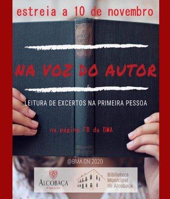 BMA - Na Voz do Autor (Outubro)
