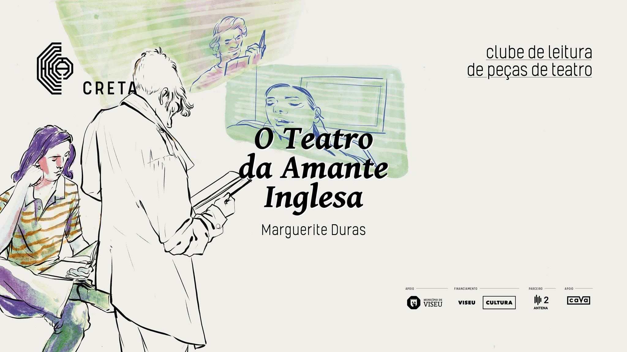 Clube de Leitura de Peças de Teatro: 'O Teatro da Amante Inglesa' de Marguerite Duras
