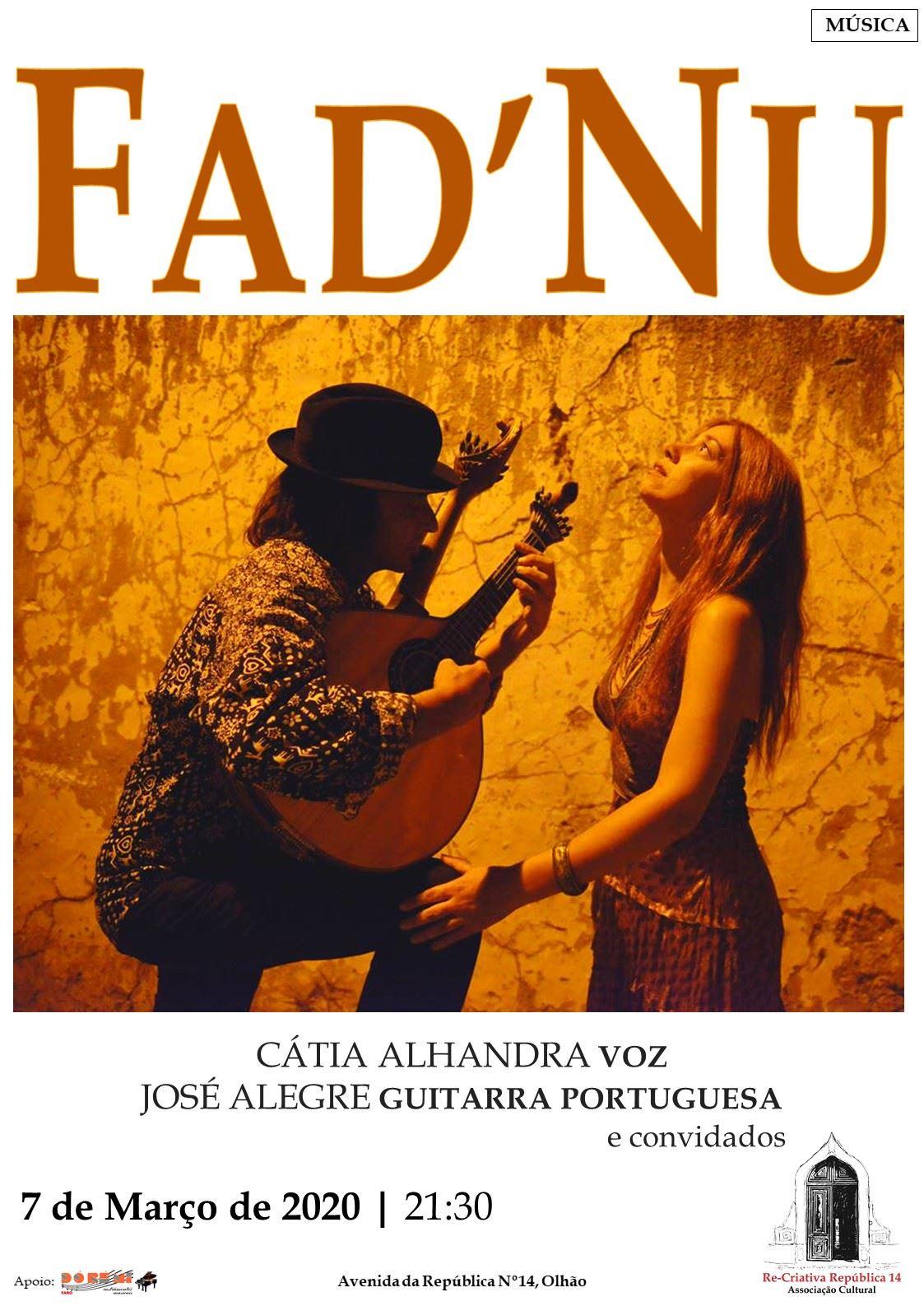 Fad'Nu - Poesia e música - Tradição e novidade.