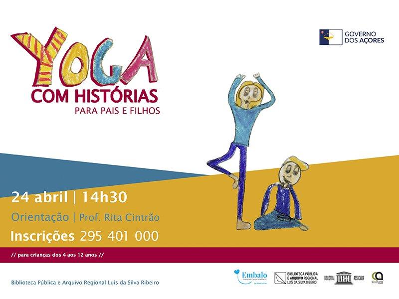 Yoga com Histórias para Pais e Filhos | abril