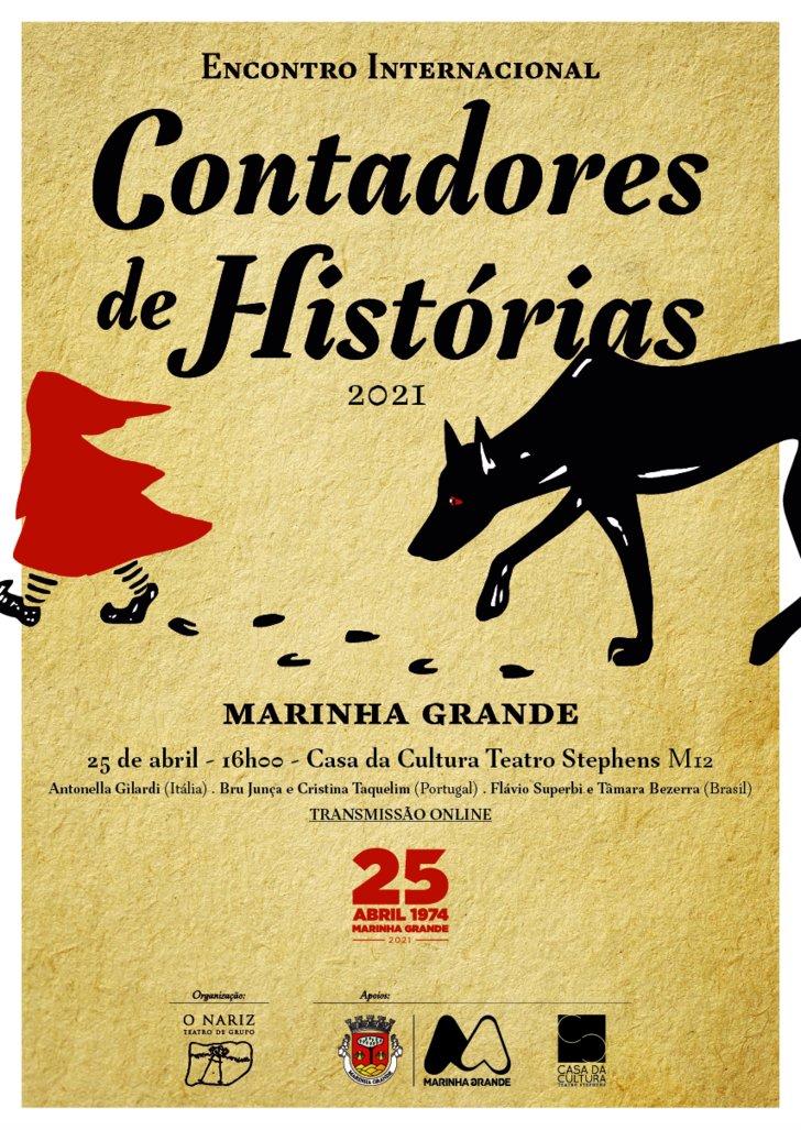 Encontro Internacional de Contadores de Histórias - COMEMORAÇÕES DO 25 DE ABRIL