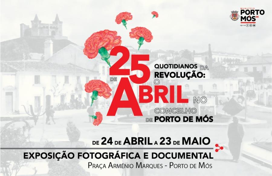 Exposição Fotográfica e Documental 'Quotidianos da Revolução: 25 de Abril no ...