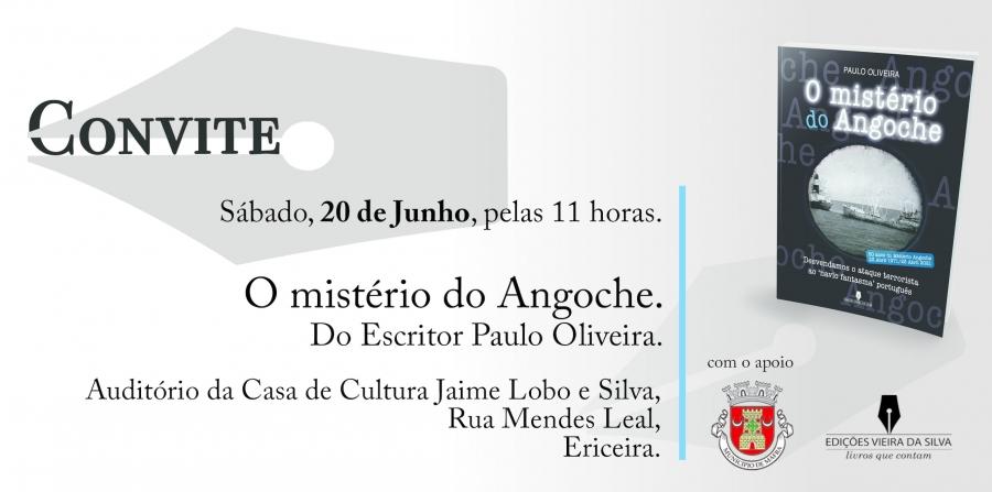 Lançamento do Livro 'Mistério do Angoche', de Paulo Oliveira
