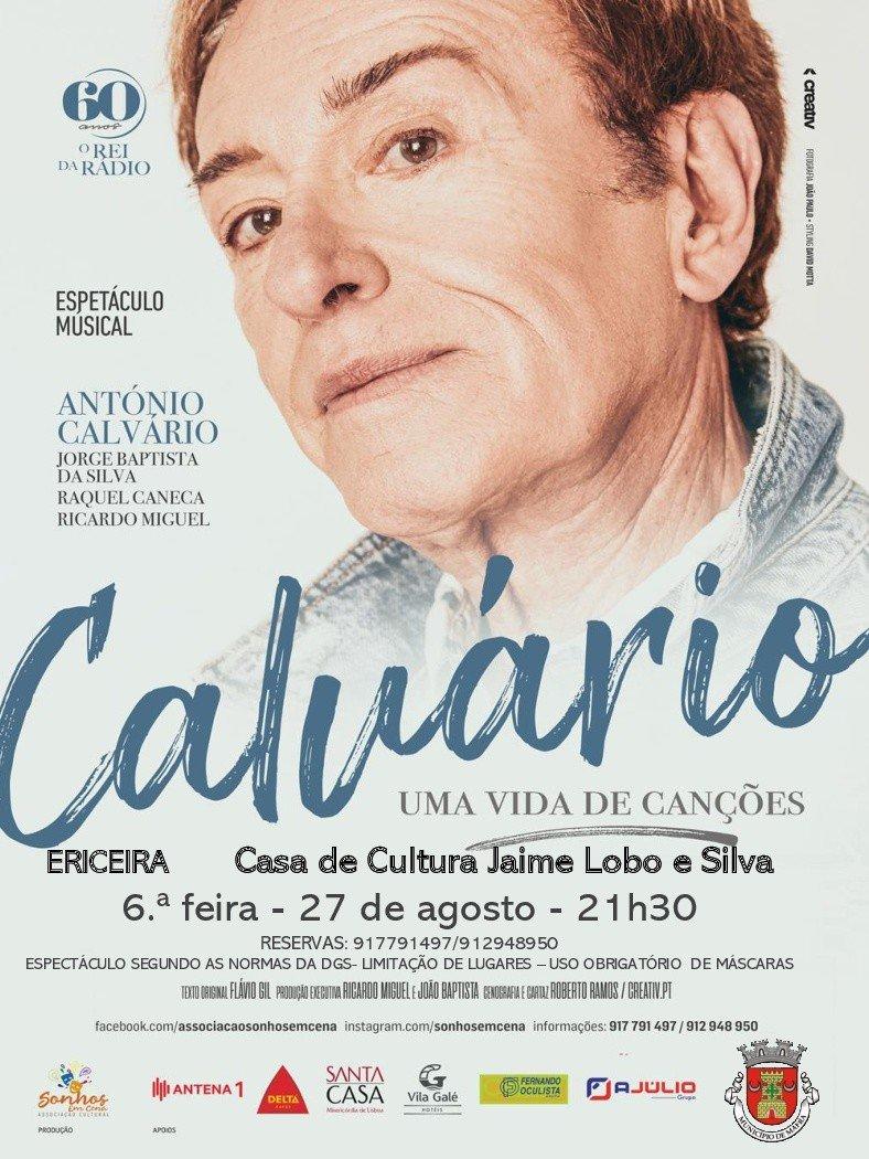 Espetáculo Musical 'Calvário - Uma Vida de Canções'