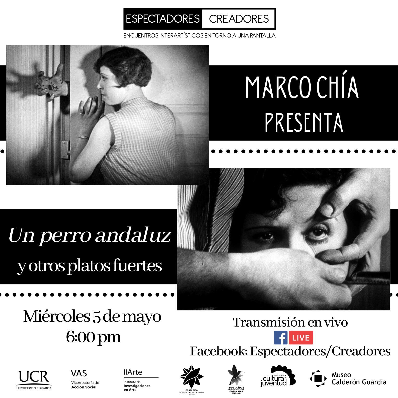 Marco Chía presenta Un perro andaluz y otros platos fuertes