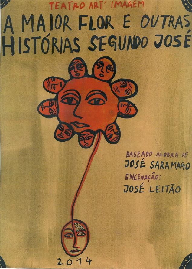 A maior Flor e outras histórias segundo José a partir de José Saramago | Teatro a Ler