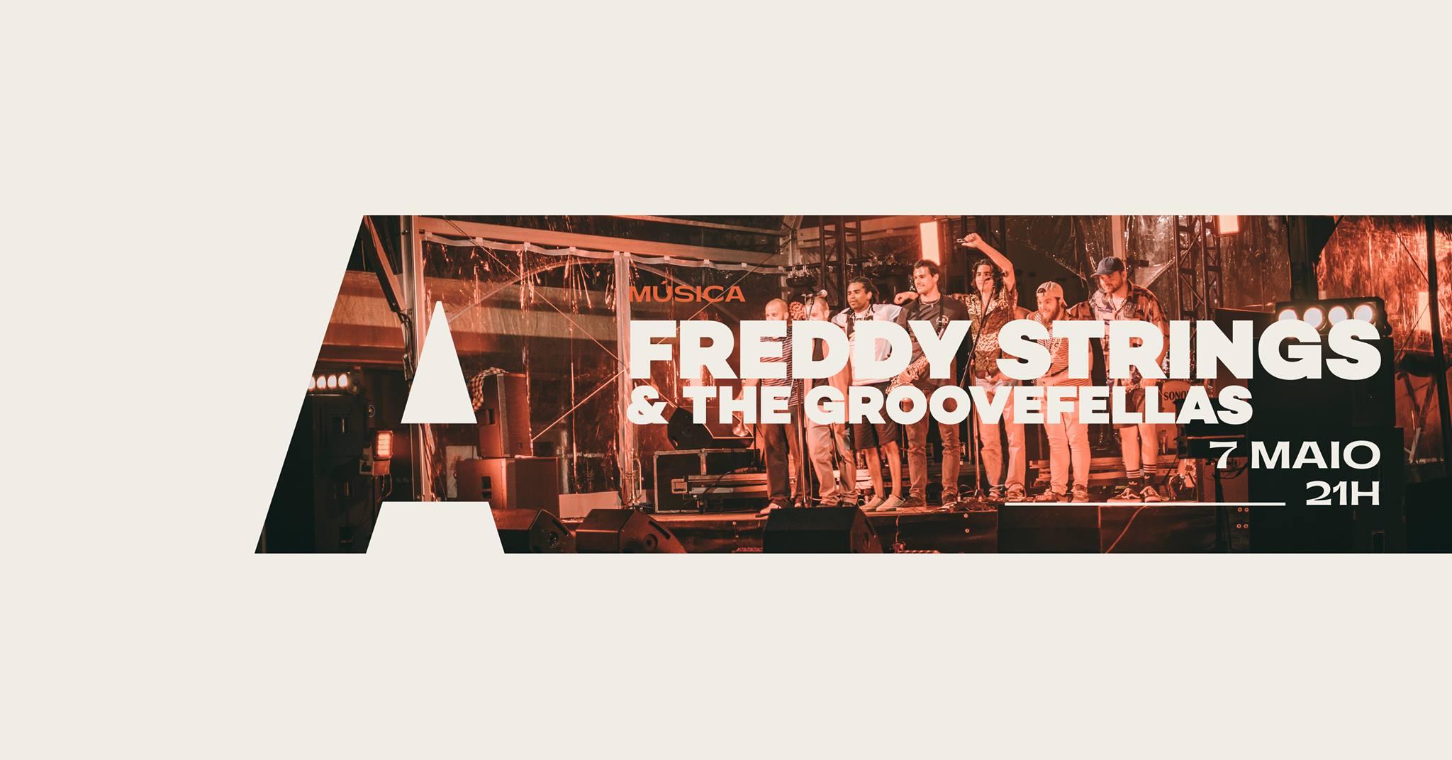 Freddy Strings and The GrooveFellas @Avenida Café-Concerto