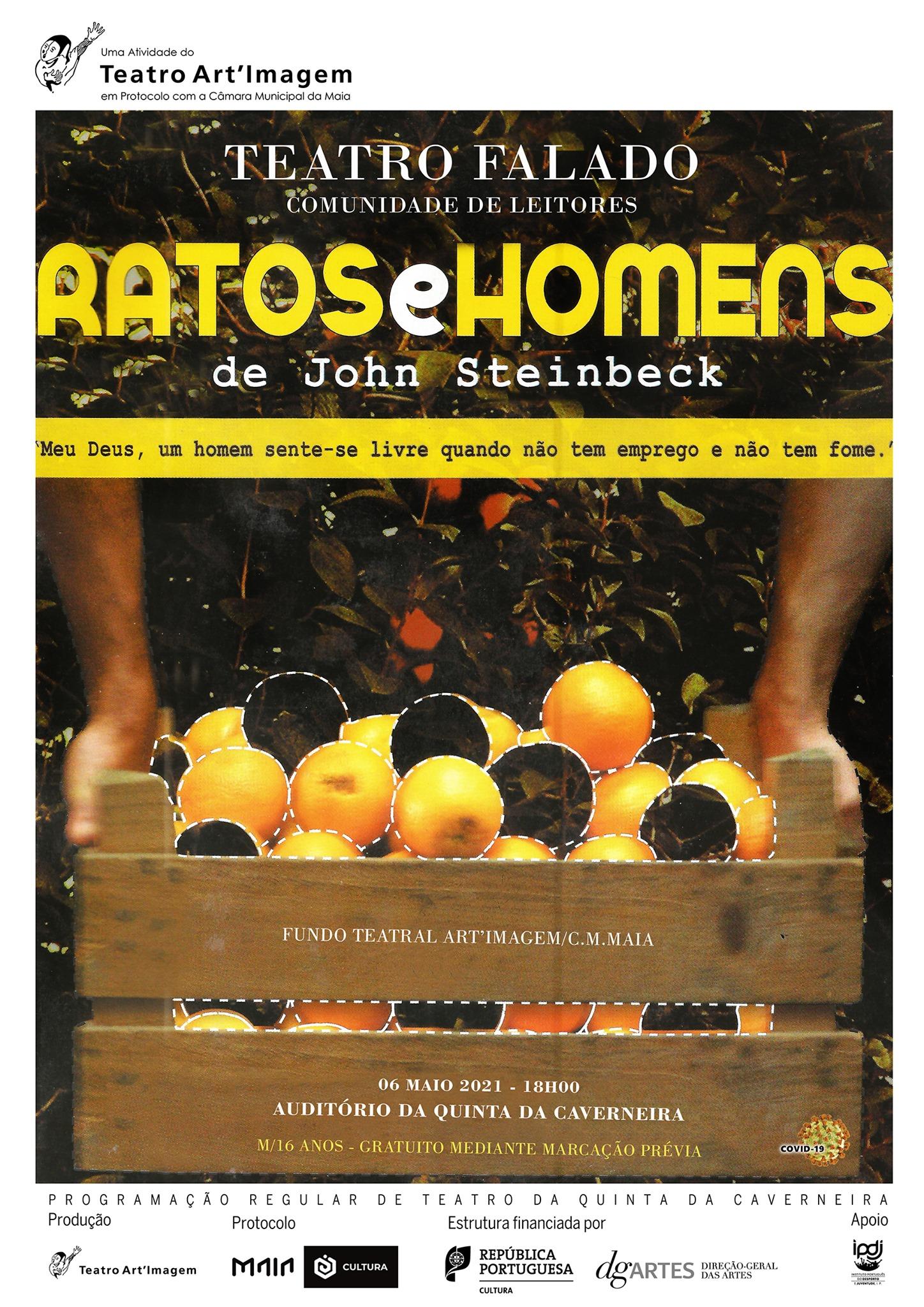 'Ratos e Homens', de John Steinbeck| Teatro Falado (comunidade de leitores)