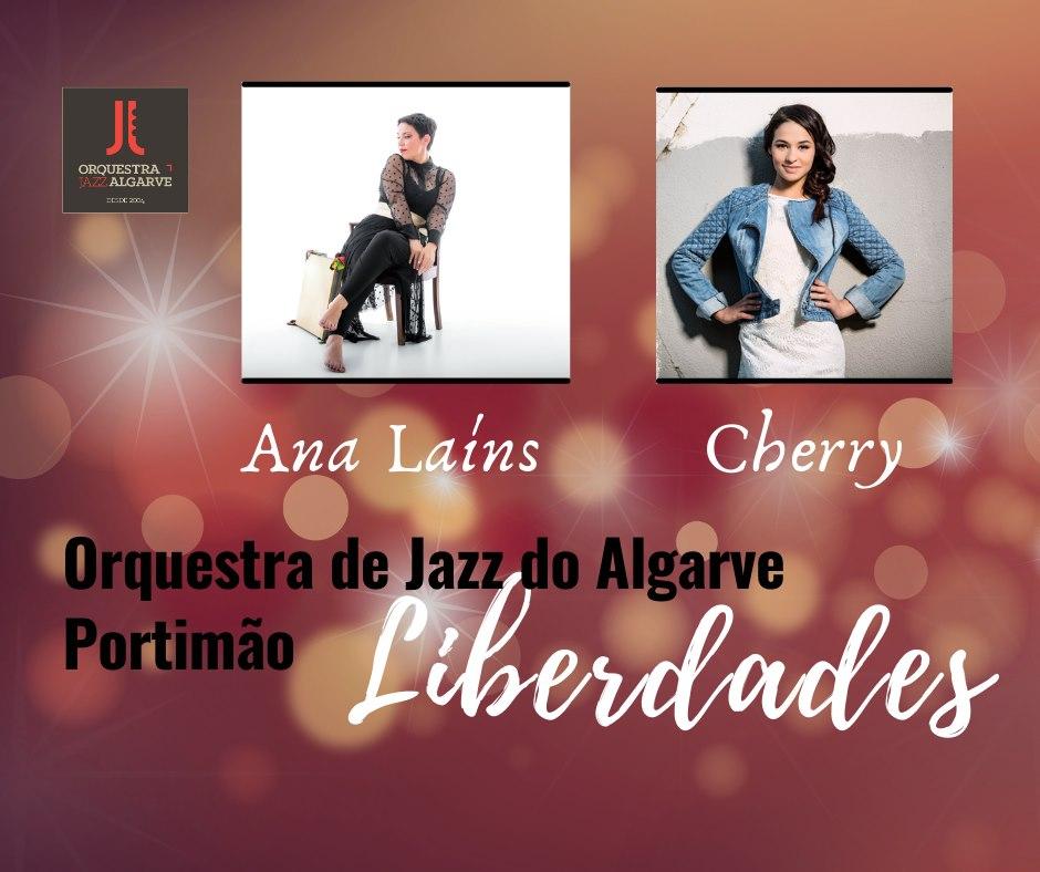 Ana Laíns   Cherry   Liberdades   Orq. Jazz Algarve   Portimão