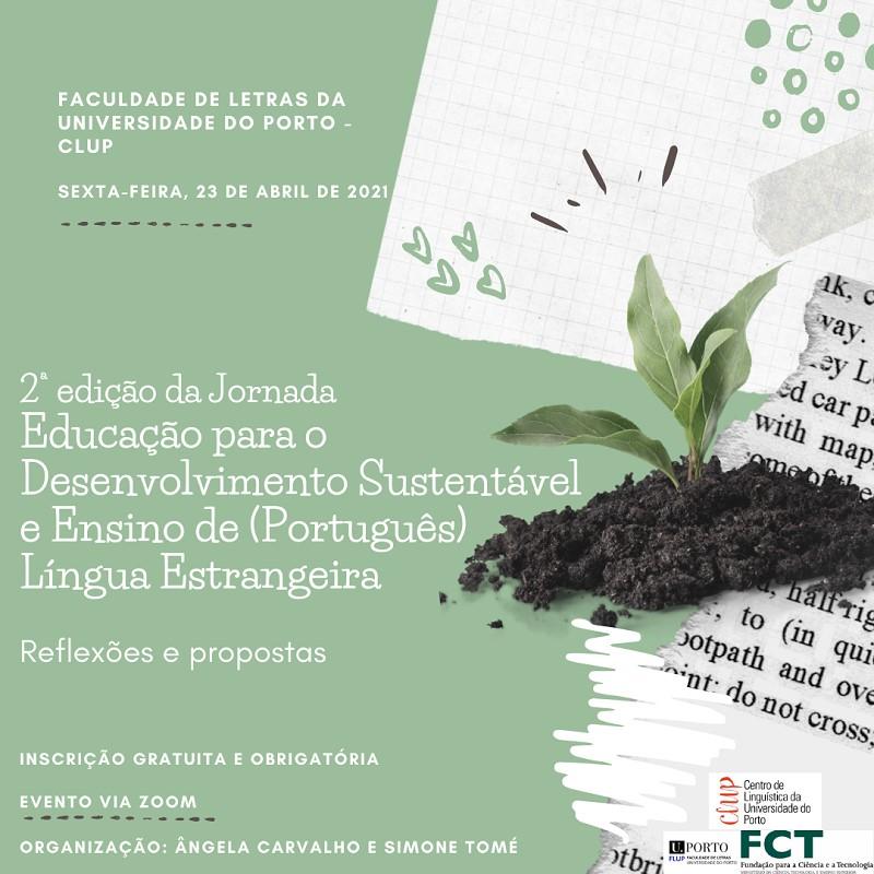 Jornada 'Educação para o Desenvolvimento Sustentável e Ensino de (Português) Língua Estrangeira'