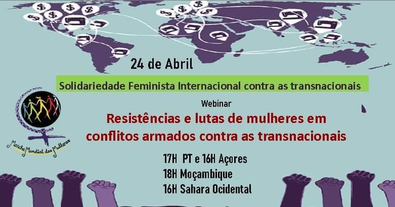 Resistências e lutas de mulheres em conflitos armados contra as transnacionais