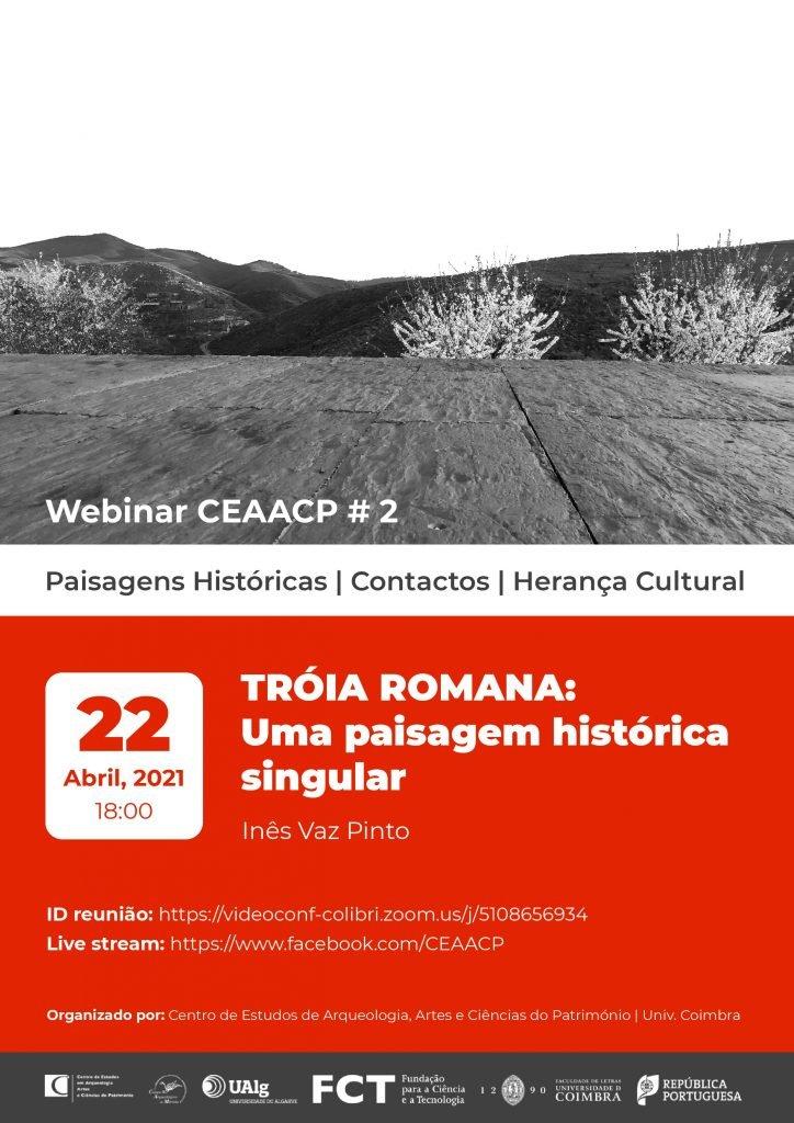 """Webinar """"Tróia Romana: Uma paisagem histórica singular"""""""