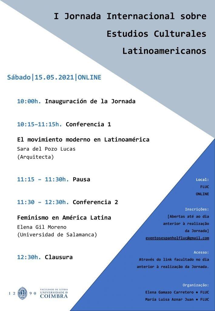 I Jornada Internacional sobre Estudios Culturales Latinoamericanos