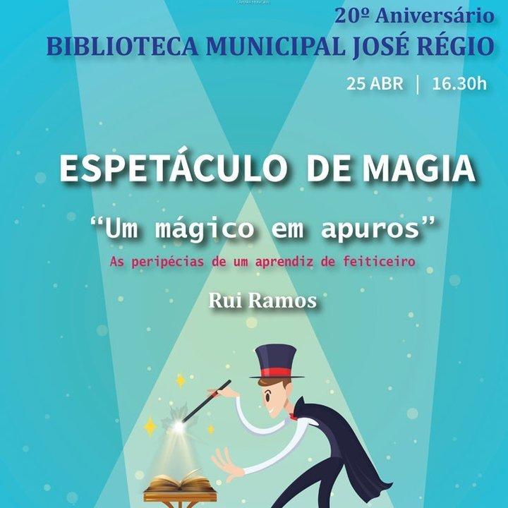 Espetáculo de Magia na Biblioteca Municipal