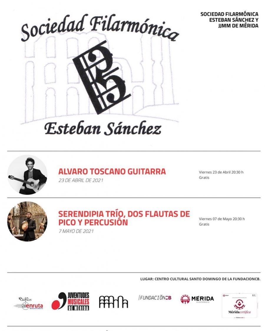 Concierto de Álvaro Toscano (guitarra)
