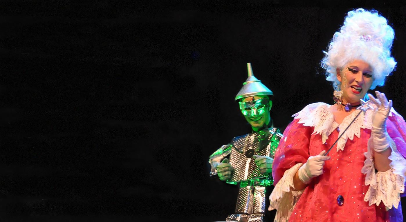 'A Feiticeira de Oz', por GATEM/ Espelho Mágico