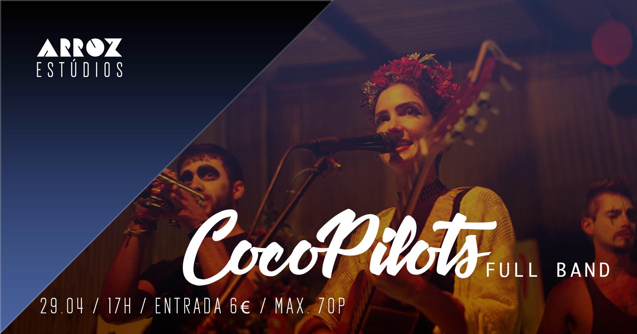 CocoPilots in Arroz Estúdios