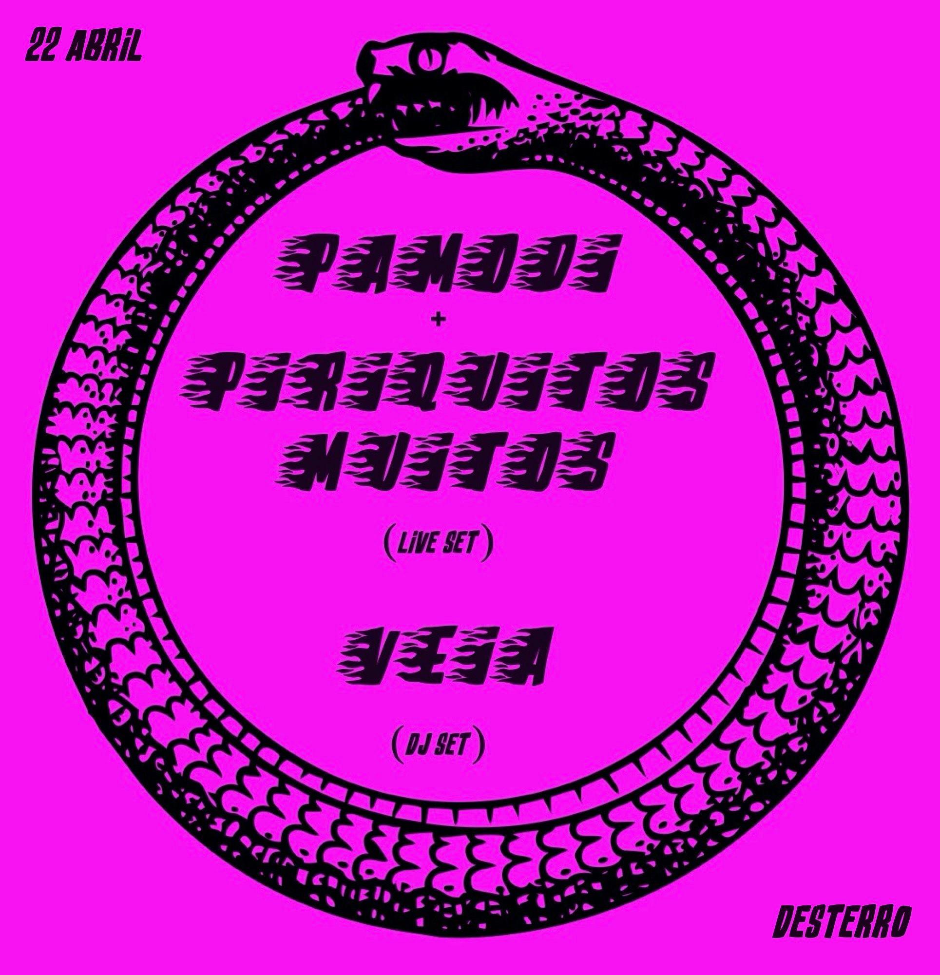 Pamodi & Piriquitos Muitos (live) + Veia (dj-set)