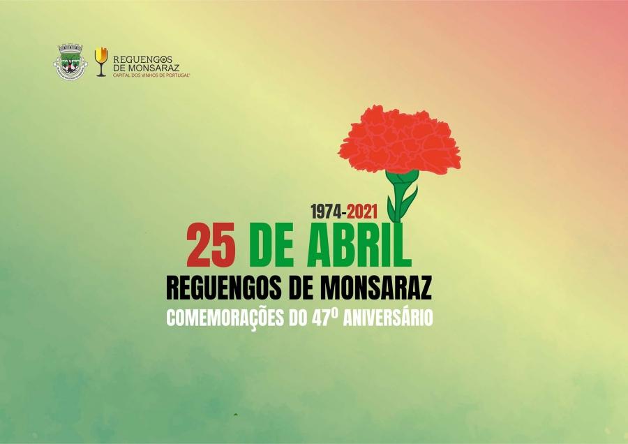 Comemorações do 25 de abril em Reguengos de Monsaraz