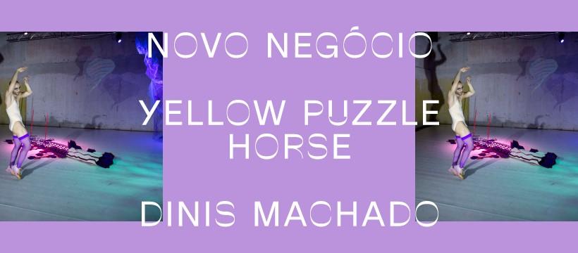 YELLOW PUZZLE HORSE de Dinis Machado ⟡ NOVO NEGÓCIO