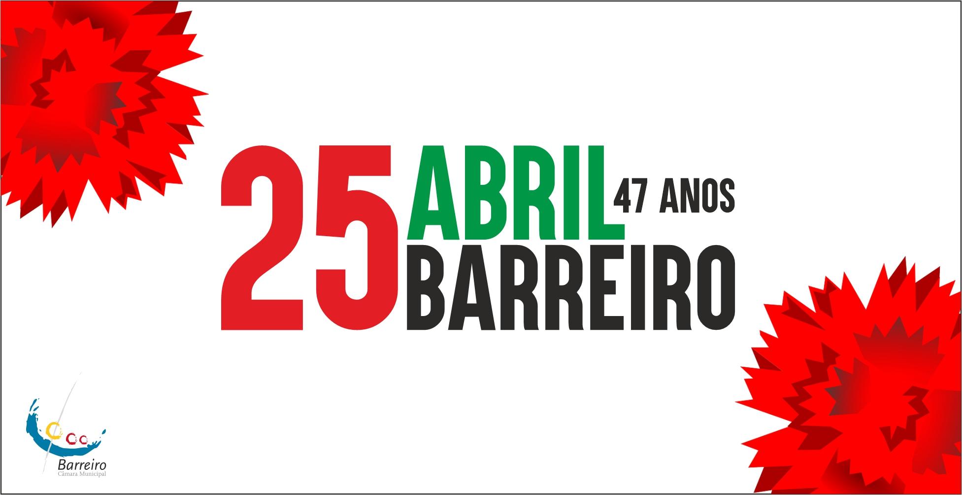 25 de Abril no Barreiro   Comemorações   Programa