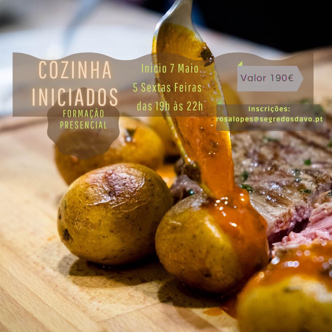 Cozinha Iniciados -  Presencial - NOVA TURMA