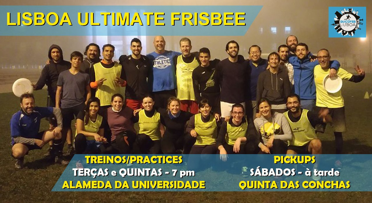 Lisbon Ultimate Frisbee Training - 8 (2021)