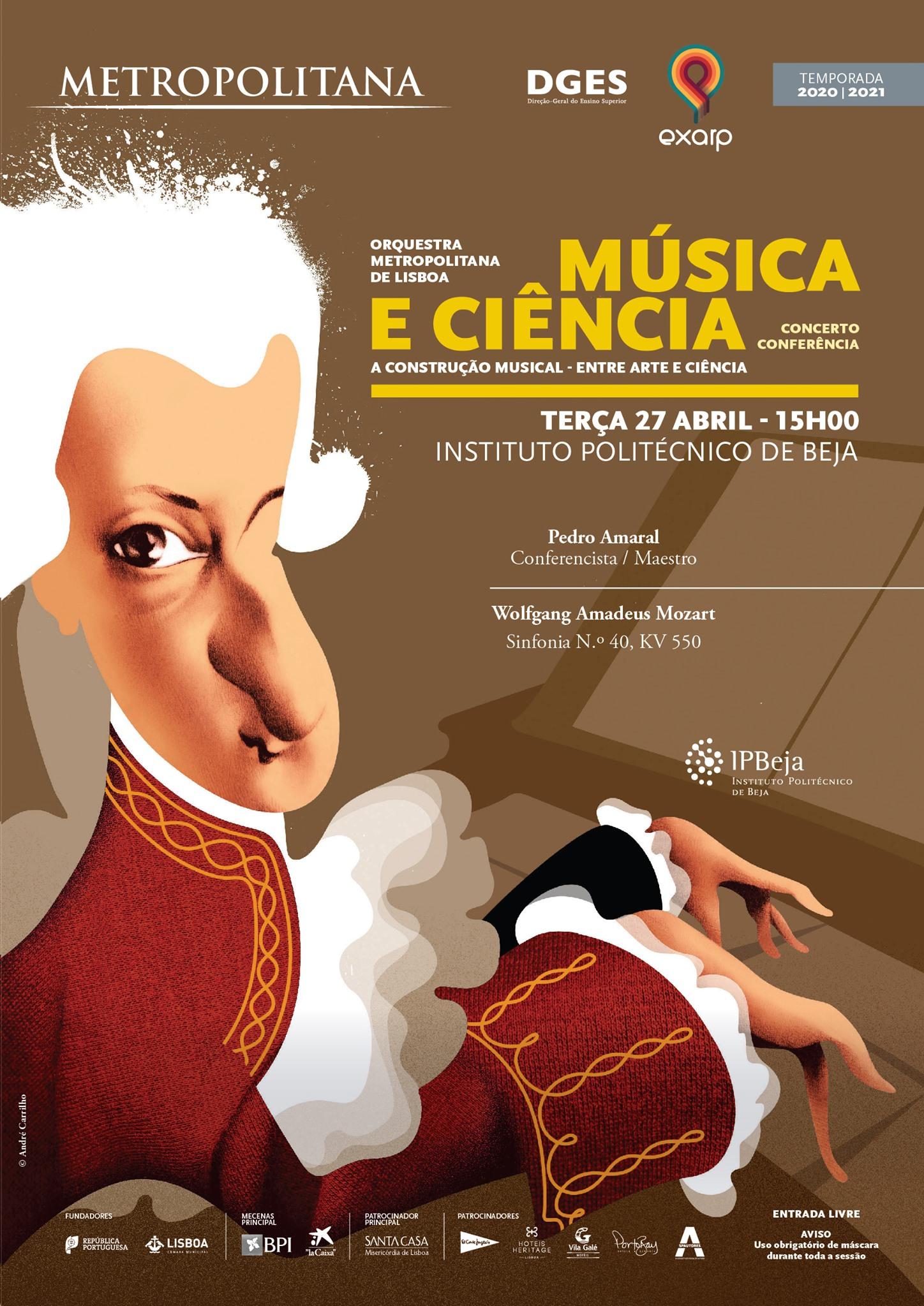 Música e Ciência   Orquestra Metropolitana de Lisboa