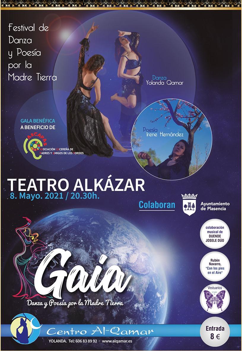 Gaia, danza y poesía por la Madre Tierra