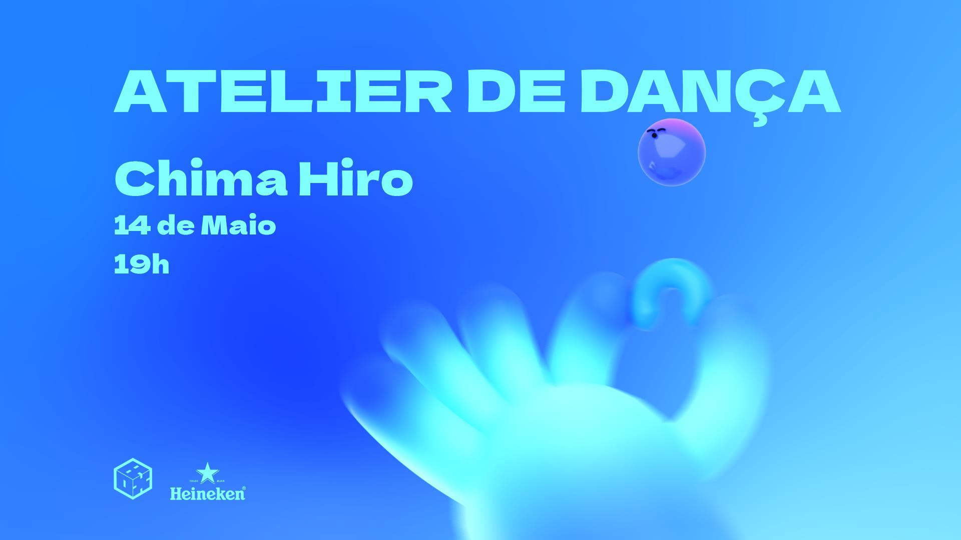 Atelier de Dança com Chima Hiro