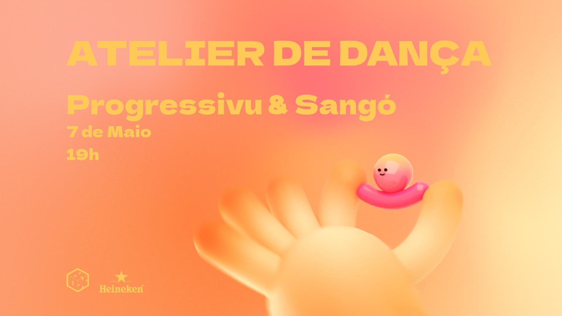 Atelier de Dança com Progressivu & Sangó