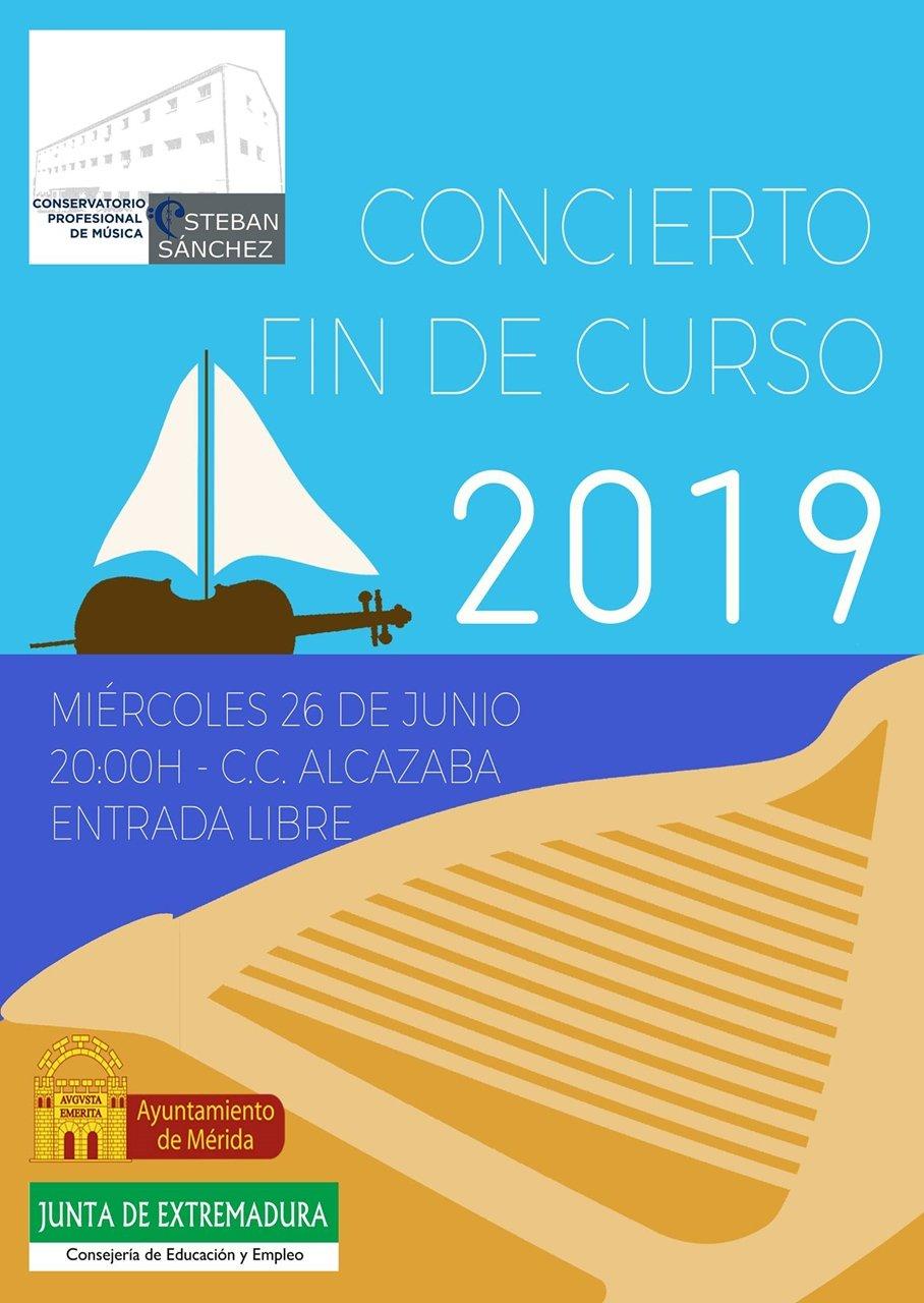 Concierto Fin de Curso Conservatorio Esteban Sánchez 2019